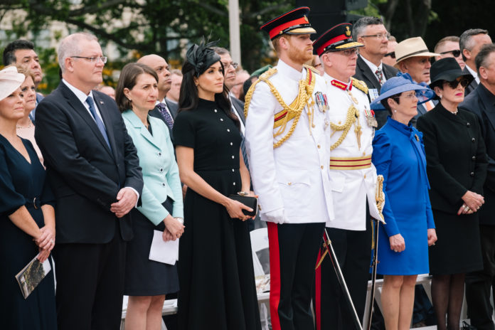 The Duke and Duchess pay their respects in Sydney at The ANZAC Memorial